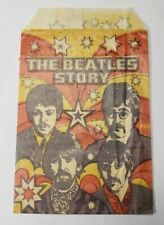 Vintage The Beatles Story Gum Wrapper Monty Fabrieken - Leiden Holland