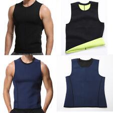 Men Sauna Sweat Body Slimming Sport Vest Neoprene Cami Gym Yoga Thermal Shaper