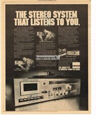 1978 Sharp SG-181 All-in-one System Stereo Hi-Fi Vtg Print Ad