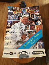 Vtg Ringling Bros. Farewell Tour Circus Poster with Gunther Gebel-Williams