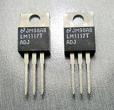 LM1117T-ADJ Voltage Regulator Adjustable Output 1.25 V ~ 13.8 V 800mA Pack of 2