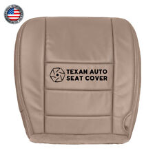 04, 05 Ford Excursion Limited XLT Driver Bottom Synthetic Leather Seat Cover Tan