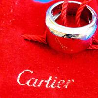 Cartier Ring Nouvelle Vague 750er Weißgold 14,75 gramm Neupreis ca. 3000.-Euro