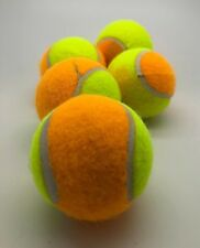 5 Mini Orange Downgrade Tennis Balls