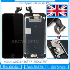 For iPhone 6S Plus Screen Replacement Touch LCD Digitizer Button Camera Black