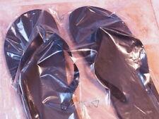 Badeschlapfen Kunststoff 25 cm schwarz ungebraucht