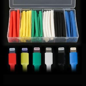 10cm Cable Protector Heat Shrink Cord Cover Android Iphone 5 5s 6 6s 7 7p 8 8p X