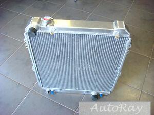 Aluminum Radiator for Toyota Hilux Surf KZN130 1KZ-TE 3.0 Turbo Diesel 93-96