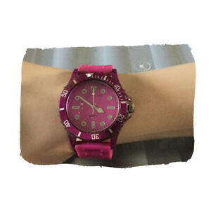 Purple Silicone Watch Christmas Birthday Mother's Valentine Gift