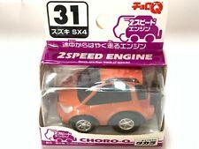 Choro Q TAKARA SUZUKI SX4 2 SPEED INGINE No.31 Orange Rare NEW
