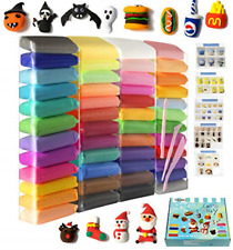 Air Dry Clay 48 Pieces 26.4 Ounce, Modeling Clay 48 Colors, Magic Clay with and