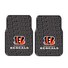Brand New NFL Cincinnati Bengals Car Truck Front Rubber Floor Mats 2pcs Set