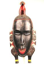 Art African - Authentic Mask Dance & Festivities Baoulé - 36 CMS