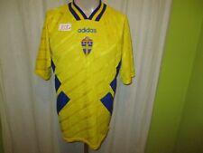 "Schweden ""S.F.F"" Nr.358 Adidas Heim Weltmeisterschaft Trikot 1994 Gr.M"