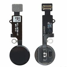 For Apple iPhone 7 / 7 Plus Black Home Button Flex Cable Touch ID Assembly