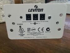 2 Leviton 47605-PSB DC Power Supply 12 Volt