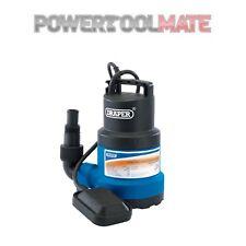 Draper 25359 100L//Min acciaio inox sommergibile acqua pompa con interruttore galleggiante