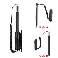 Resistive Touch Screen Stylus Pen w/ Spring Coil Rope Dock For POS PC Laptop ZZ