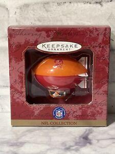 Tampa Bay Buccaneers Hallmark Keepsake Ornament NFL Football Blimp New 1997