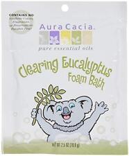 Aura Cacia-  Foam Bath Clearing- Eucalyptus ,2.5 oz (70.9 g)