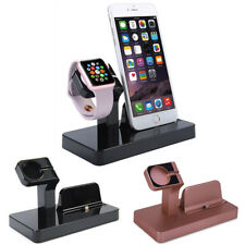 Charging Dock Stand Station Charger Holder for Apple Watch iWatch iPhone 7 8 X