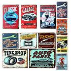 20*30CM Vintage Metal Sign Tin Retro Car Repair shop Pub Bar Garage Decor Poster