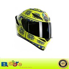 CASCO AGV INTEGRALE K1 REPLICA VALENTINO ROSSI WINTER TEST 2015 TAGLIA L