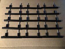 Set of 15 Black Metal Drawer Handles T Bar Pulls Hardware Kitchen Cabinets