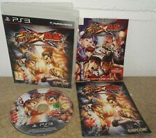 Street Fighter X Tekken complete with Comic Book (Sony PlayStation 3)