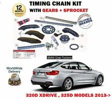 FOR BMW 3 GRAND TURISMO 320D XDRIVE 325D 2013-> TIMING CAM CHAIN KIT + GEARS