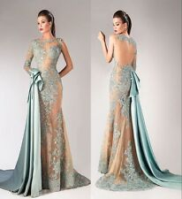 2018 New Formal Prom Evening Party Dress Pageant Beauty Wedding Bridesmaid Gown