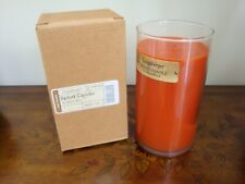 """Longaberger"" Wood Wick Splint Candle in Spiced Chai - Nib"