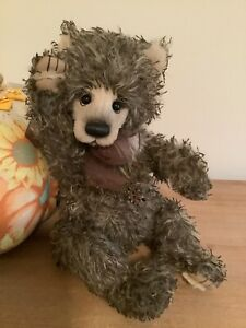 Charlie Bears ~COGS~ 2021 Limited Edition String Mohair Bear - NEW