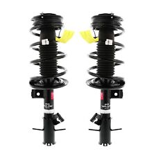 Pair Set Of 2 Front KYB Strut-Plus Suspension Struts and Coil Spring Assemblies For Nissan Sentra 2007-2012 NEW