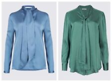 Marks and Spencer V-Neck Button Cuff Sleeve Tops & Shirts for Women