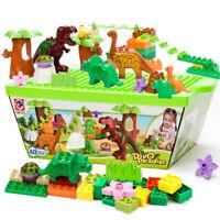 Set of 40 Dinosaur Jurassic Building Block Educational Toy for Children Fun Hot
