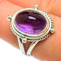 Amethyst 925 Sterling Silver Ring Size 8.5 Ana Co Jewelry R48132F