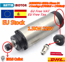 1.5KW ER20 Air Cooled Spindle Motor 80mm 24000rpm 400HZ for CNC Router 1500W『ES』