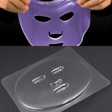 Facial Mask Diy Plate Mold Clear Pvc Mould Skin Care Mask Making For Unisex Lf