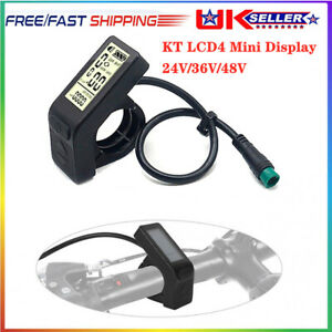 24/36/48V KT-LCD4 LCD Display Panel Meter Controller For Electric Bicycle/E-bike