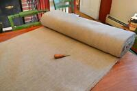 "Rug Hooking Linen - Unbleached Primitive 64"" Width - sold by the yard"
