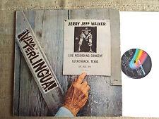 Jerry Jeff Walker – Viva Terlingua - -  LP