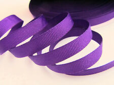 "50 yards Wholesale Roll Solid Grosgrain 3/8"" Ribbon/Craft/Supply GR38-09 Purple"