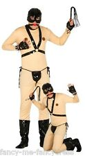 Mens Berty Bondage Stag Do Novelty Funny Fancy Dress Costume Outfit Size Large