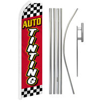 AUTO TINTING super flag swooper polyester