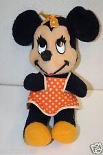 Wow Vintage 1960s Minnie Mouse Plush Stuffed Animal Walt Disney Productions Rare
