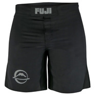 Fuji Baseline MMA BJJ No Gi Grappling Competition Fight Board Shorts - Black