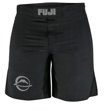 Fuji Baseline MMA BJJ No Gi Grappling Competition Fight Board Shorts - Black