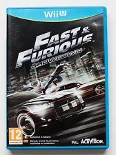 FAST & FURIOUS SHOWDOWN - NINTENDO WII U WIIU - PAL ESPAÑA - AND THE FURIUS