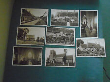 JOB LOT OF OLD SULGRAVE POSTCARDS - SEE PICTURES - NORTHAMPTONSHIRE POSTCARDS